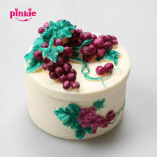 Online Shop One Set Grape Decoration 3d Silicone Cake Mold