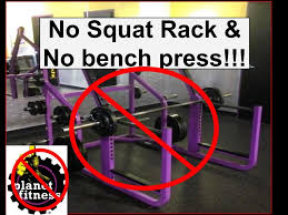 Home Bench Press Workout Planet Fitness Gym Workout Without Squat Rack Or Bench Presss