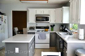painting oak cabinets white and graypainting bathroom cabinet grey