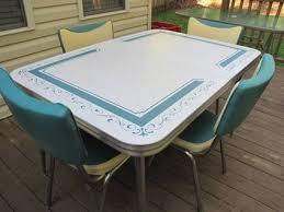 Best Vintage Dining Table Sets Images On Pinterest Vintage - Vintage metal kitchen table