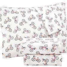 percale sheet set martha stewart whim collection novelty print cotton percale sheet