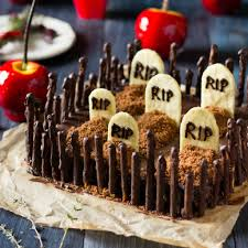 Graveyard Cakes Halloween Graveyard Cakemix Brownies Gluten Free And Vegan Recipe Nerdy