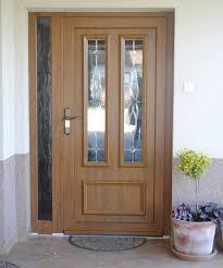 Pvc Exterior Doors Ideal 7000 System New