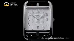 hermes cape cod automatic youtube