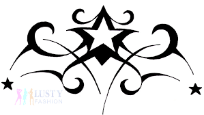 tribal star tattoo designs 2 lustyfashion