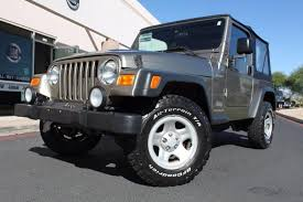 2004 jeep wrangler sport 2004 jeep wrangler sport stock p1177 for sale near scottsdale