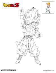 holiday coloring pages dragonball z coloring pages free