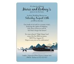 cruise wedding invitations invitations cards by lorna bautista at coroflot