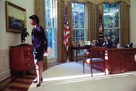 president george w bush and national security advisor condoleezza