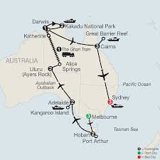 Great Barrier Reef Map Great Barrier Reef Vacation Globus Escorted Tours