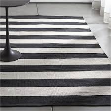 Striped Runner Rug Adorable Dhurrie Runner Rugs Olin Black Striped Cotton Dhurrie Rug