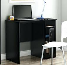 small black writing desk office design this home office desk black black glass computer