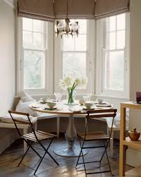 Banquette Dining Furniture Window Seat Banquette Small Rounded Dining Table Industrial Chairs