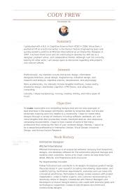Design Resumes Examples by Interaction Designer Resume Samples Visualcv Resume Samples Database