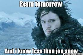 Meme Generator Winter Is Coming - just some exam motivation for you all album on imgur