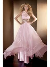 pink chiffon cheap evening dresses online prom formal dresses