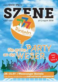 Wez Bad Nenndorf Szene Juli August 2016 By Schaumburger Nachrichten