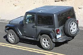length of jeep wrangler 4 door 2018 jeep wrangler spied testing in the desert will grow in