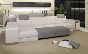 Sofa Bed Living Room Awesome Modern Luxury White Leather Sofa Designoursign