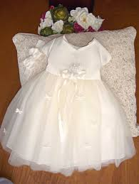 Flower Girls Dress Shoes - ivorypink white 5139a baby flower dress baby phat shoes
