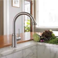 kitchen faucets hansgrohe hansgrohe 04492800 talis c higharc kitchen faucet steel optik