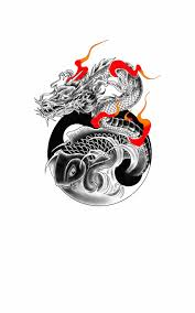 and koi fish with yin yang by chanlung168 on deviantart