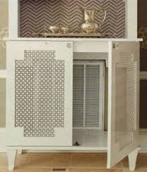 Cabinet Door Vents Hide The Air Vent There Is A Large Return Air Vent This