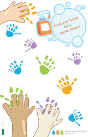 printable poster for hand washing wash your hands a student poster project k e r n girl