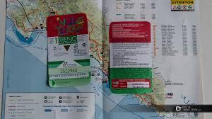 Cinque Terre Map The Cinque Terre Card