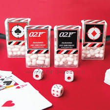 party favours bond theme tic tac party favours door gifts wedding karren