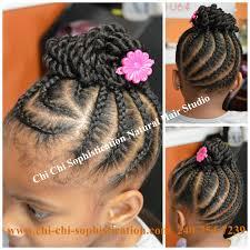 cornrows u0026 twist bun for children naturalhair texturedhair