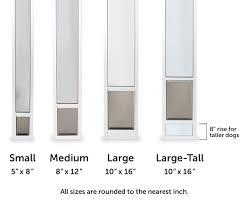 sliding glass door protection pet patio door panels sliding door dog door inserts petsafe
