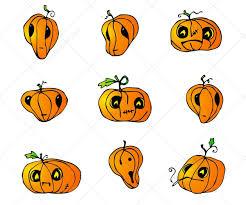 halloween food clip art halloween pumpkins vector pack special collection of pumpkin