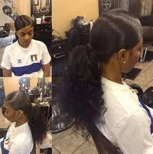 slick back weave hairstyles pinterest mayaxxgarcia h a i r pinterest ponytail