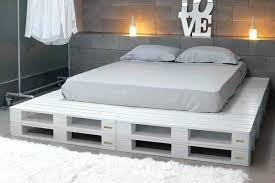 Pallet Platform Bed Pallet Platform Bed Dynamicpeople Club