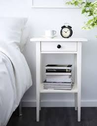 Ikea Nightstand White Ikea U0027s Hemnes Night Stand With Crystal Knobs From Zara Home
