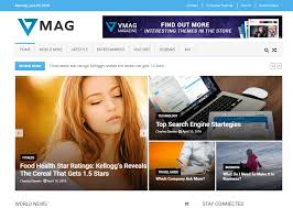 web design news 15 best free news magazine themes 2017