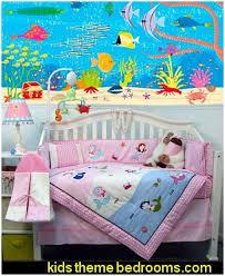 nursery baby decorating ideas underwater ocean theme bedroom