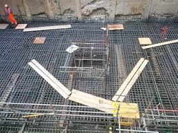 moorgate shaft base slab design detailing and construction