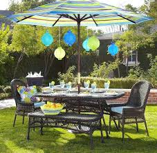 patio table with umbrella hole outdoor dining furniture with umbrella create a comfortable outdoor