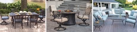 aluminum patio furniture in pa u0026 nj green acres outdoor living