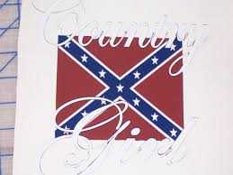 Rebel Flag Ford Country Rebel Flag Full Color Graphic Window Decal Sticker