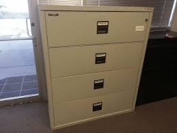 Used Lateral File Cabinets Used King Fireproof Lateral Filing Cabinets For Proof