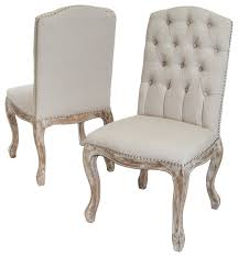linen chairs linen dining chairs set of 2 beige farmhouse dining