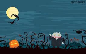 flat halloween wallpaper downloadwallpaper org