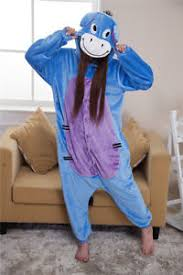 Kigurumi Halloween Costume Eeyore Kigurumi Halloween Costume Soft Donkey Animal