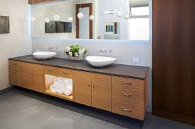 Bathroom Sinks With Storage Manhattan Ave Residence Modern Bathroom Los Angeles By