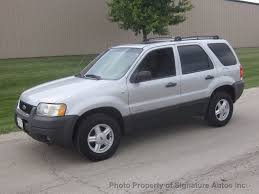 Ford Escape All Wheel Drive - 2002 used ford escape xlt at signature autos inc serving
