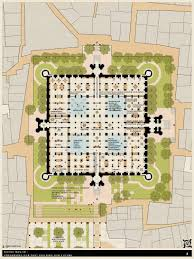 Floor Plan Of A Mosque by Khirki Masjid Preserving Our Past Building Our Future Designboom Com