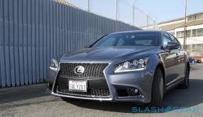 lexus sedan limo lexus ls 460 f sport review slashgear